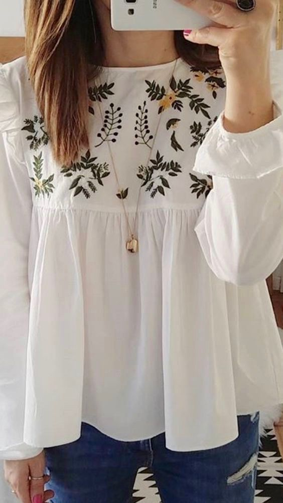 Flawless Embroidered Tops
