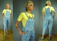 Vtg 80s GUESS Jeans Overalls Suspenders V waist Georges ...