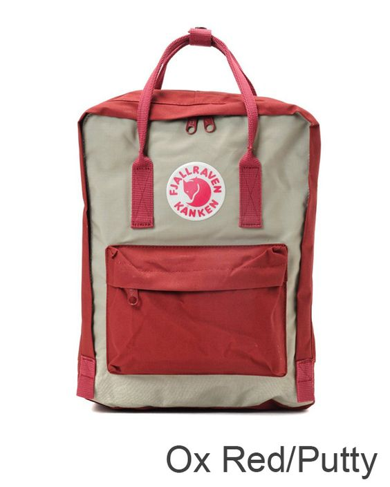 fjallraven kanken ox red putty