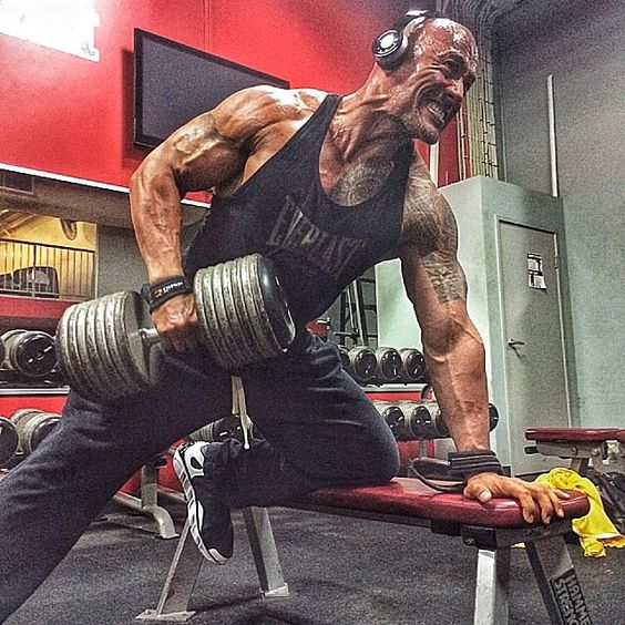 "#TheRock says..... """"One day I'll get the therapy I need. Until then... #HeavyIronFightsThePain #CheaperThanAShrink #NoFannyPacks My only drawback is f*cked up calloused hands""""......  http://instagram.com/p/s-zDPHohy7/"