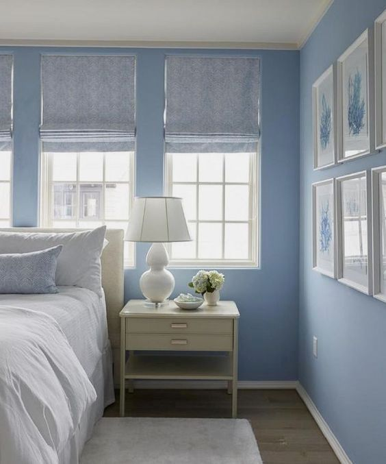 24 Beautiful Bedrooms Decorated With Blue Bedroom Ideas For Couples Light Decor