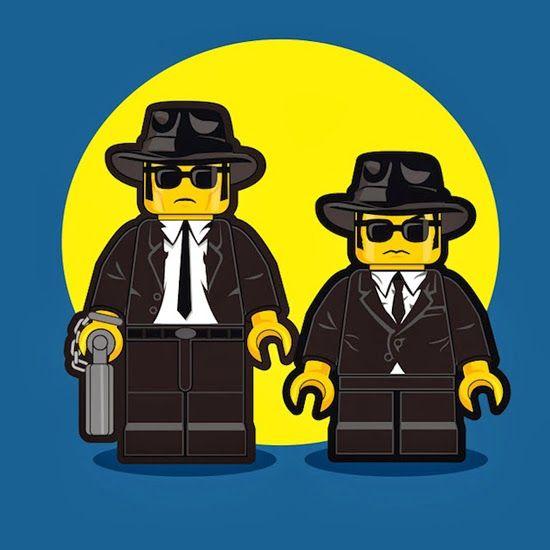 Personaggi dei film in stile LEGO
