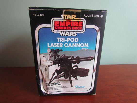 Kenner Vintage Star Wars ESB Empire Strikes Back Tri-Pod Laser Cannon MIB #93450 #Kenner