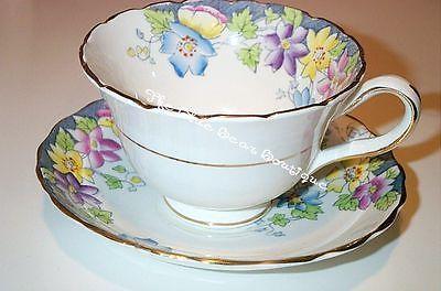 Rosina Flora Cup & Saucer Set
