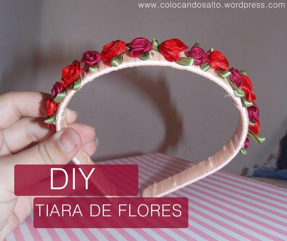 DIY | Faça a sua tiara de flores