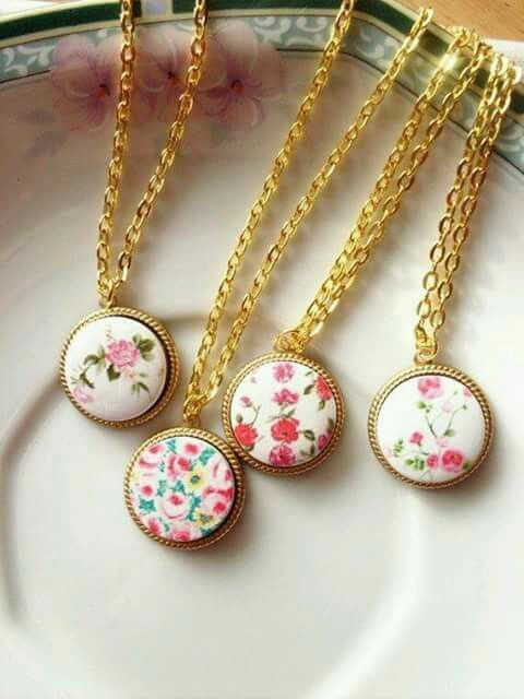 Beautiful #Floral #Necklaces