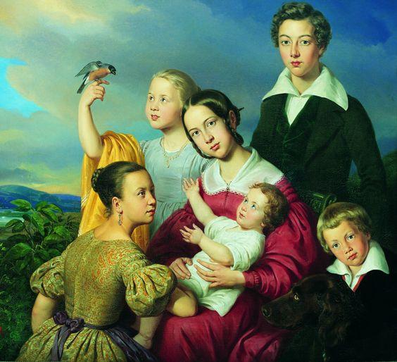 1839 Louis Krevel - Six children: