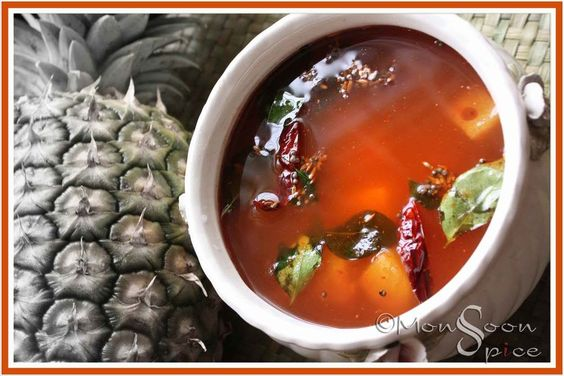 Pineapple Rasam to Tantalise your Taste Buds... - Monsoon Spice   Unveil the Magic of Spices...
