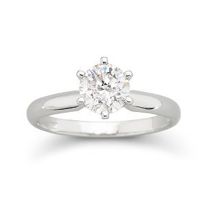 I Said Yes™ Diamond Solitaire Ring 1 CT. 14K