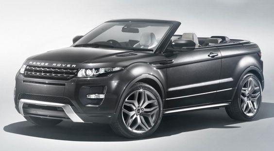 Range Rover Evoque Convertible. Awesome!