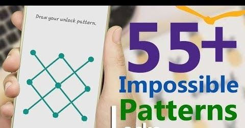 55 Impossible Pattern Locks 2019 Series Impossible Pattern