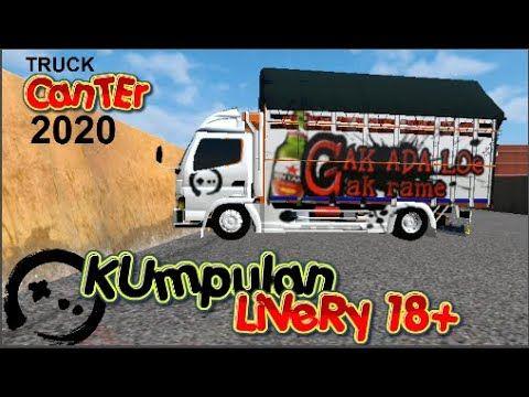 Share Livery Mod Truck Cabai Canter Terbaru In 2020 Trucks Canter Mod