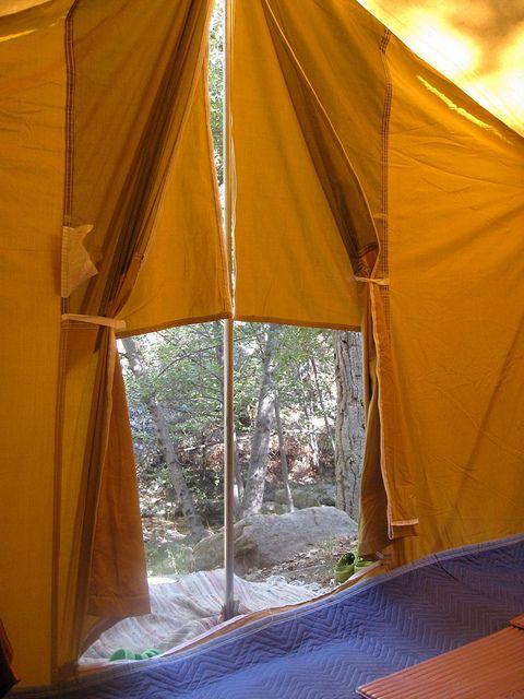 tent camping, wheeler gorge, ojai.