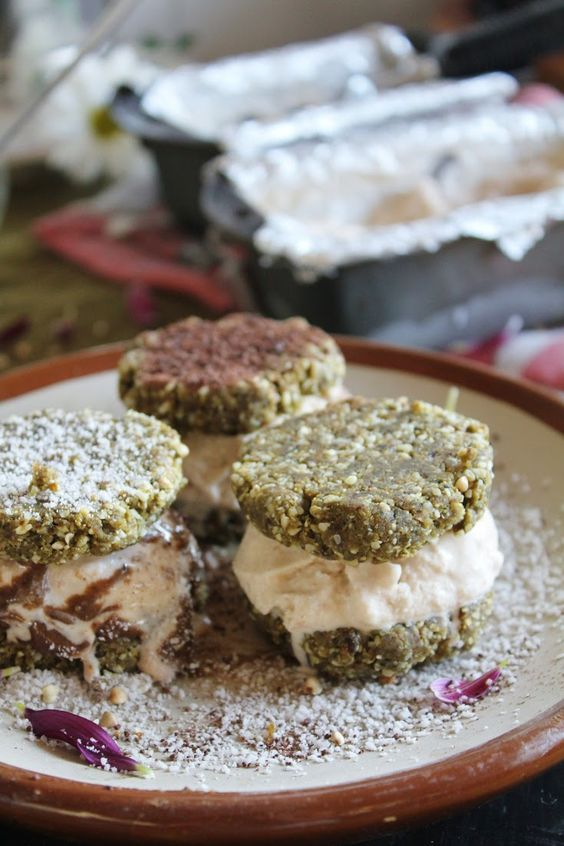 Rawsome Vegan Life: basil + peanut butter cookies with coconut + chili ...