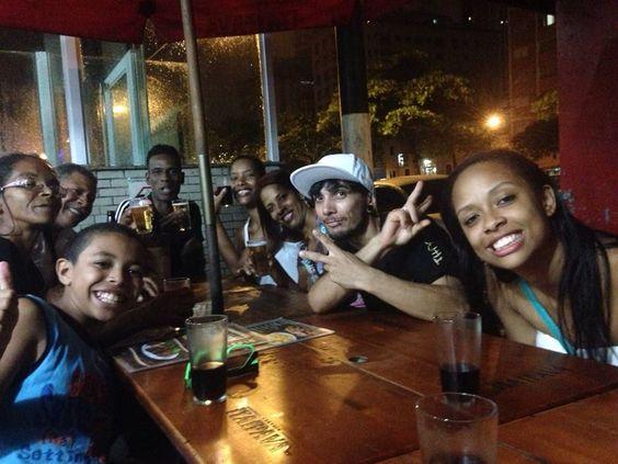 Com eles, minha familia amada num rolezinho saudável... Litoral Paulista...