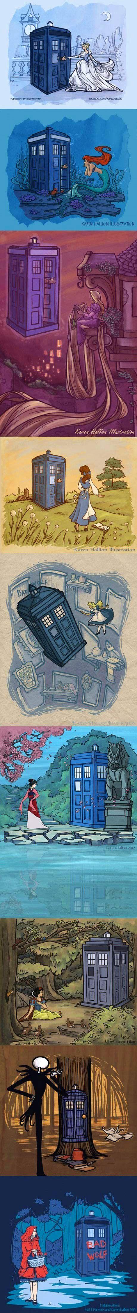 TARDIS makes every movie better…