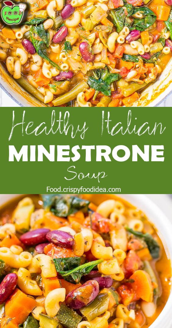 Keto Minestrone Soup - For Keto Lunch