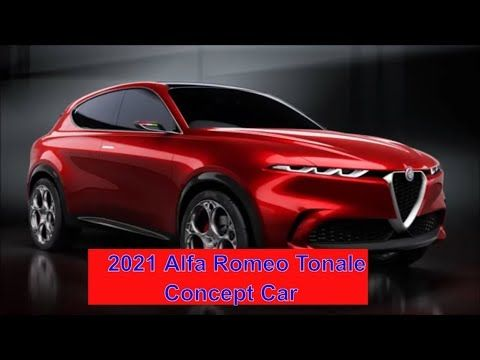 Firs Look 2021 Alfa Romeo Tonale Concept Car Interior Exterior This Is An Idea This Is Just An Idea That Is Alfa S Story At The 2019 Geneva Motor Show
