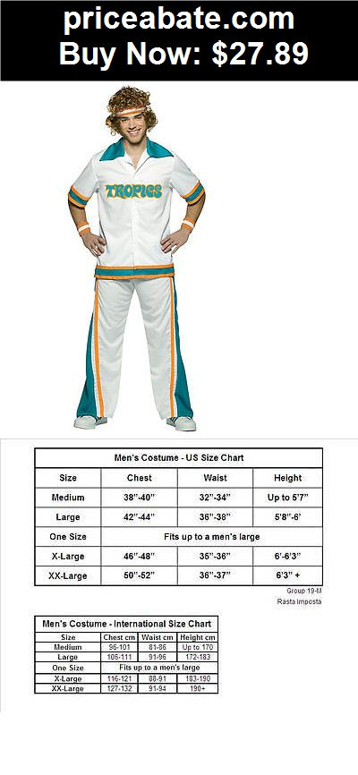 Men-Costumes: Semi-pro Warm Up Suit Adult Halloween Halloween Costume - BUY IT NOW ONLY $27.89