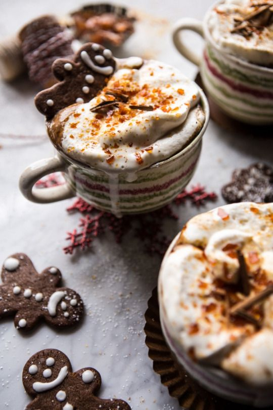 foodffs:  Gingerbread Latte with Salted Caramel Sugar.  Really nice recipes. Every hour.  Show me what you cooked!