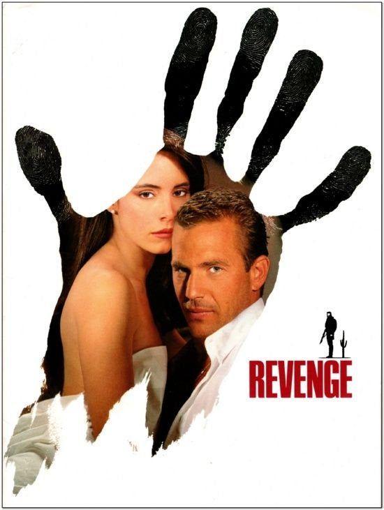 Revenge 1990 Original Studio Issued Press Kit Handsome Etsy Kevin Costner Tony Scott Movie Posters