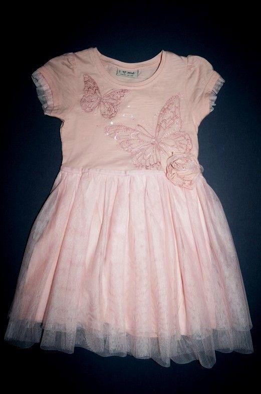 Next Sommerkleid aus Baumwolle mit Tüllrock Sehr edel! Ferbe: rosa Gr. 98-104 (3 Jahr) 15,00 €