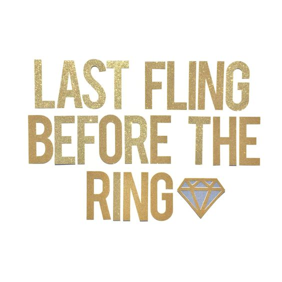 One Last Fling Before The Ring Banner