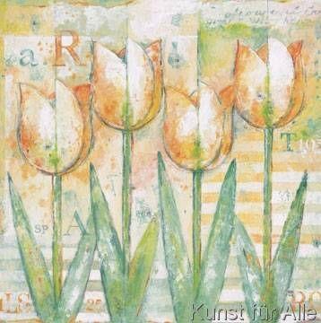 Eric Barjot - Orange Tulips