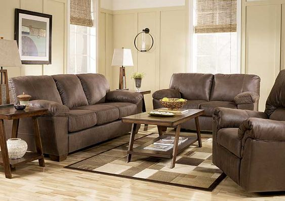 Furniture Connection   Clarksville, TN Amazon Walnut Sofa U0026 Loveseat    Living Room   Pinterest   Living Rooms And Room