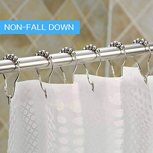 x cosrack curtain rod shower curtain