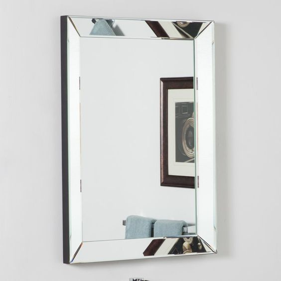 Archie Rectangle Oversized Wall Mirror
