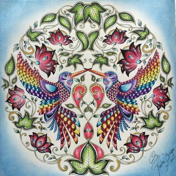 Arrasou!!! De novo!!!! @Regrann from @bragasacha -  #jardimsecreto #inspiracaododia #jardimencantado  #artecomoterapia #colorindo #colorir #livrosdecolorirantiestresse #colorful #johannabasford #Regrann #detox #florestaencantada #editorasextante #coloriage #coloringbook #livrodecolorir #colorirévida #amocolorir
