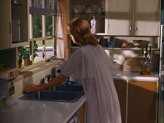 The Bewitched home after purchasing  moving in | Bewitched | September 1964 – March 1972
