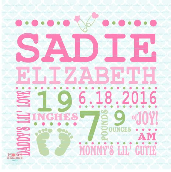 birth announcement template svg birth svg baby svg announcement svg birth facts svg birth stats. Black Bedroom Furniture Sets. Home Design Ideas