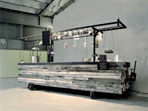 Cig e conception et production d une cuisine mobile - Les grandes tables de la friche ...