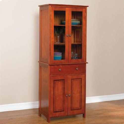 Brylanehome Starburst Tall Hutch Cabinet By Brylanehome