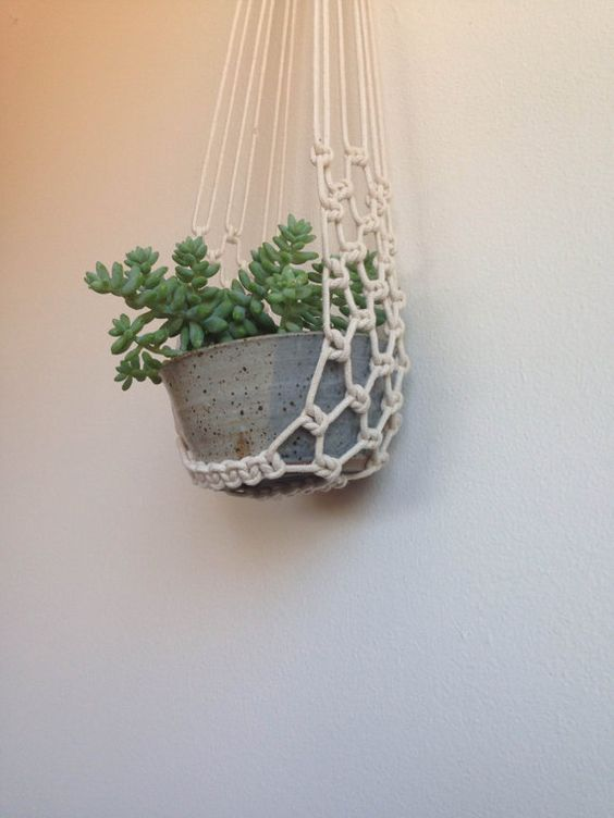 Planters Hanging Planters And Plant Hangers On Pinterest