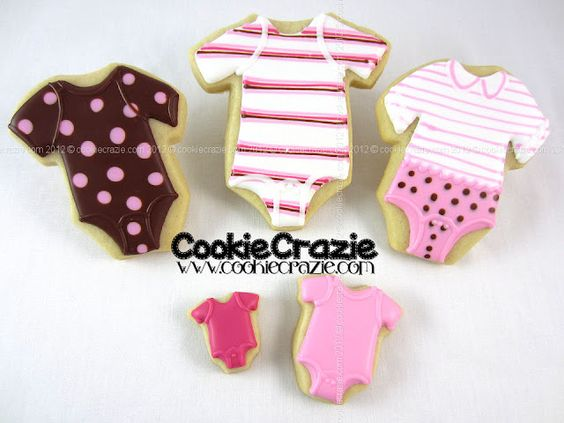 Baby Onsie Cookies Tutorial #DIY