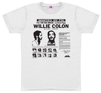 Quiero esta camiseta!     La gran Fuga de Willie Colón