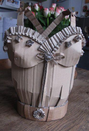 corset en carton