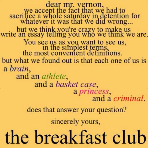 8 Facts That ll Change How You View The Breakfast Club