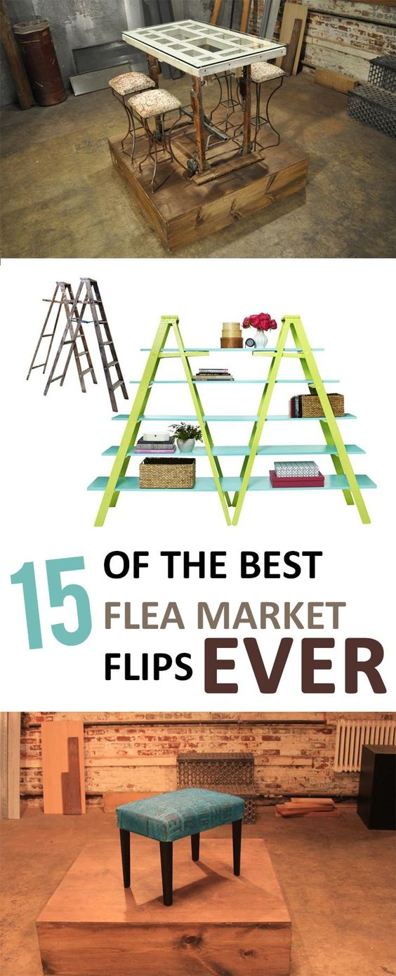 15 of the best flea market flips ever for Diy flea market projects