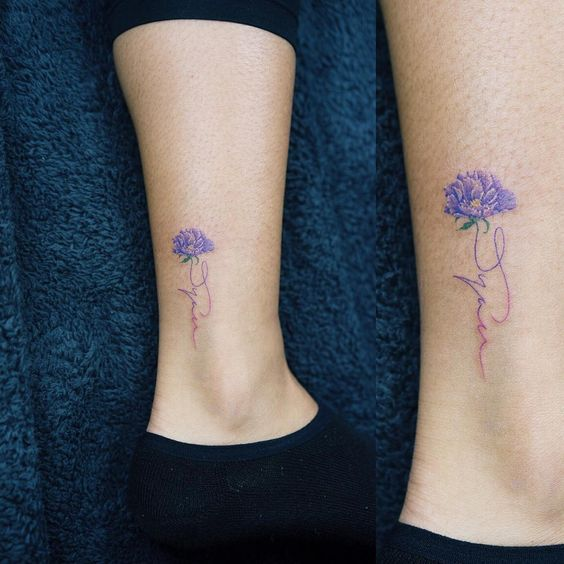 .colortattoo#flowertattoo#flower#