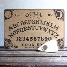 Original Ouija Board - My childhood best friend Lee and I entertained ourselves many a weekend.