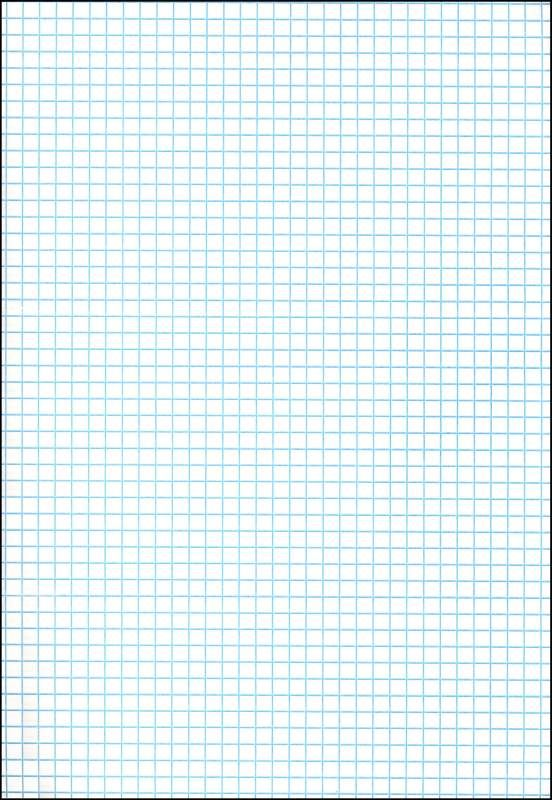 Ruled Cross Section Drawing Paper White 1 4 Section Drawing