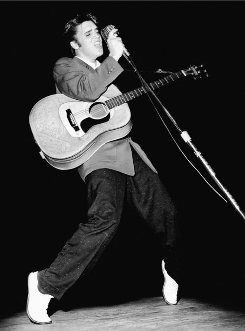 """""""Elvis is the best ever, the most original. He started the ball rolling for us all. He   deserves the recognition.""""  Jim Morrison in 1969"""