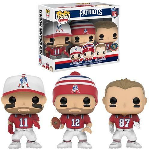 Pre-Order Release Date: August 2016 From Funko. A GTS Distribution/BGV Toys exclusive! Funko's POP! NFL Wave 3 has burst on the scene as Funko takes fans behind