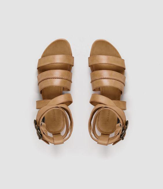 Femme Dace Sandal (Tan) | ALLSAINTS.com
