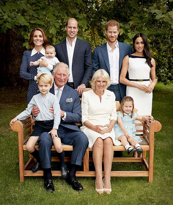 prince charles official birthday portrait with kate middleton and prince louis Feliz Aniversario...:)))