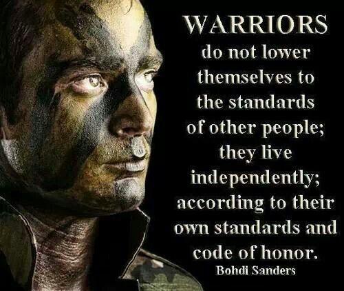 Warriors The Broken Code 3: My GaT FooL!